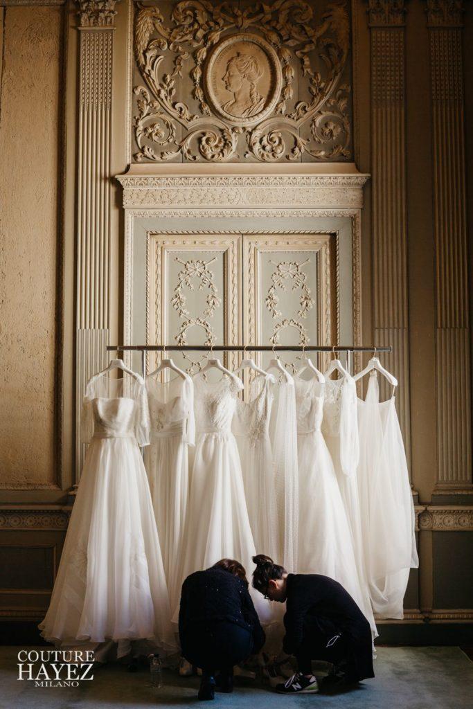 backstage, abiti sposa leggeri