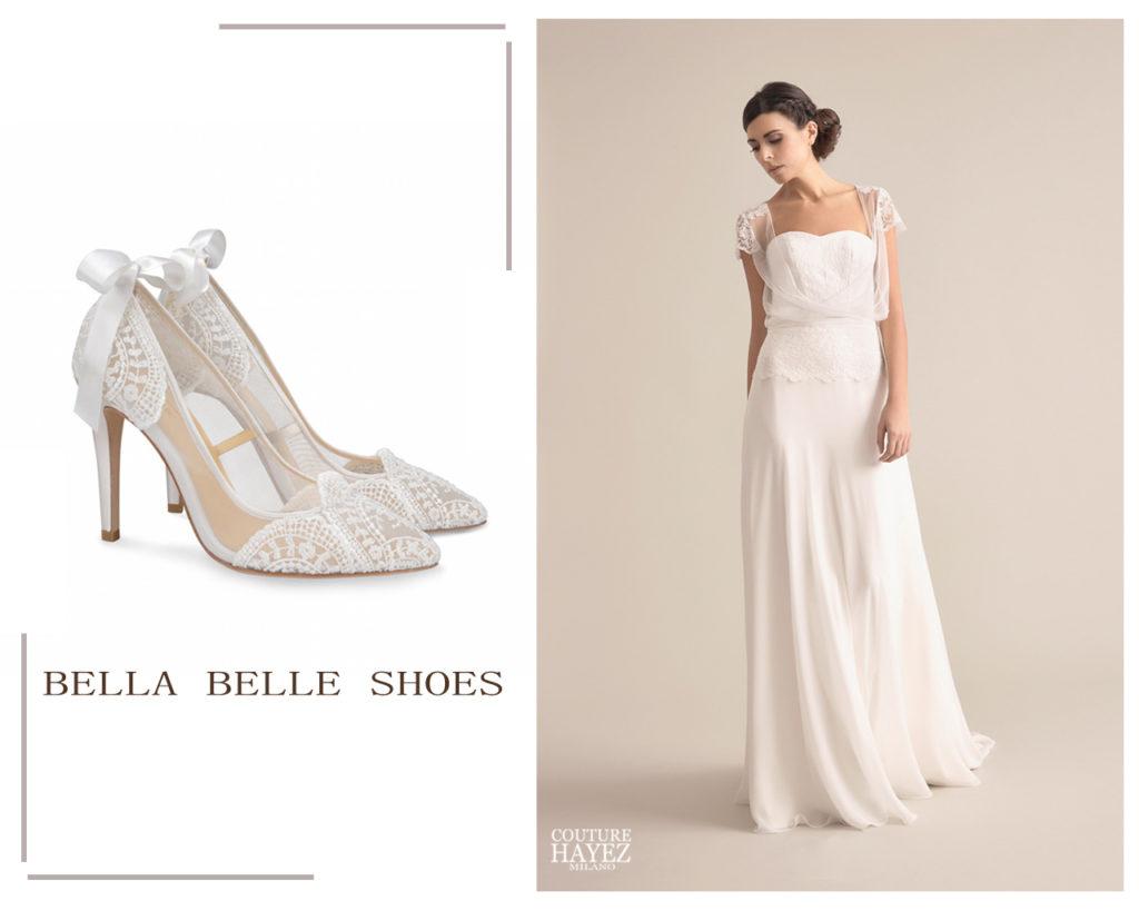 Scarpe Sposa Per Abito In Tulle.Calzature Sposa Come Sceglierle Couture Hayez Milano