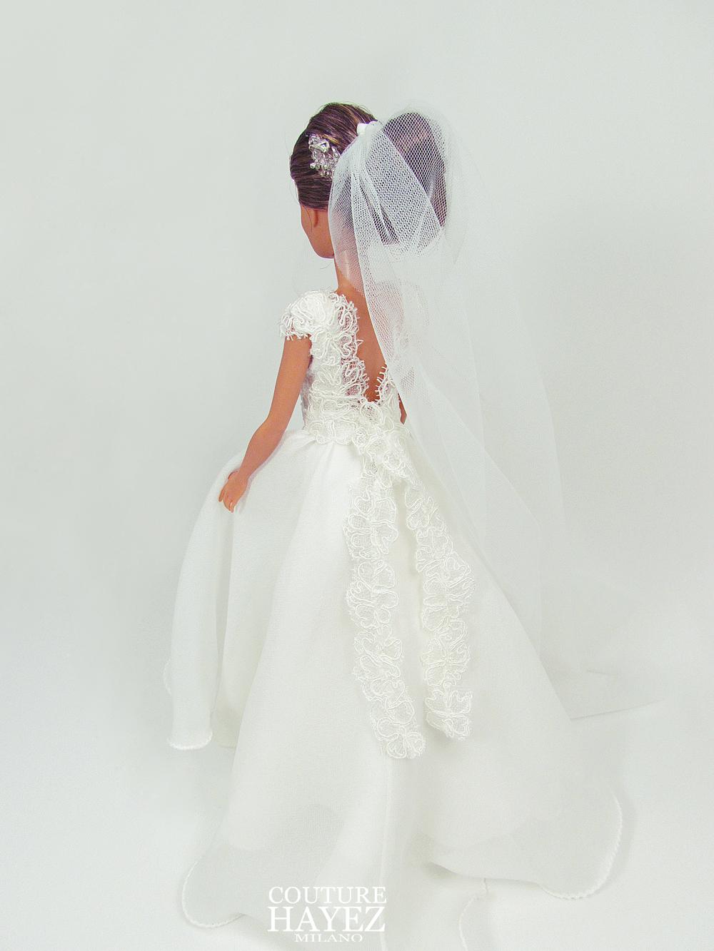 sposa couture hayez , Il tuo abito per barbie