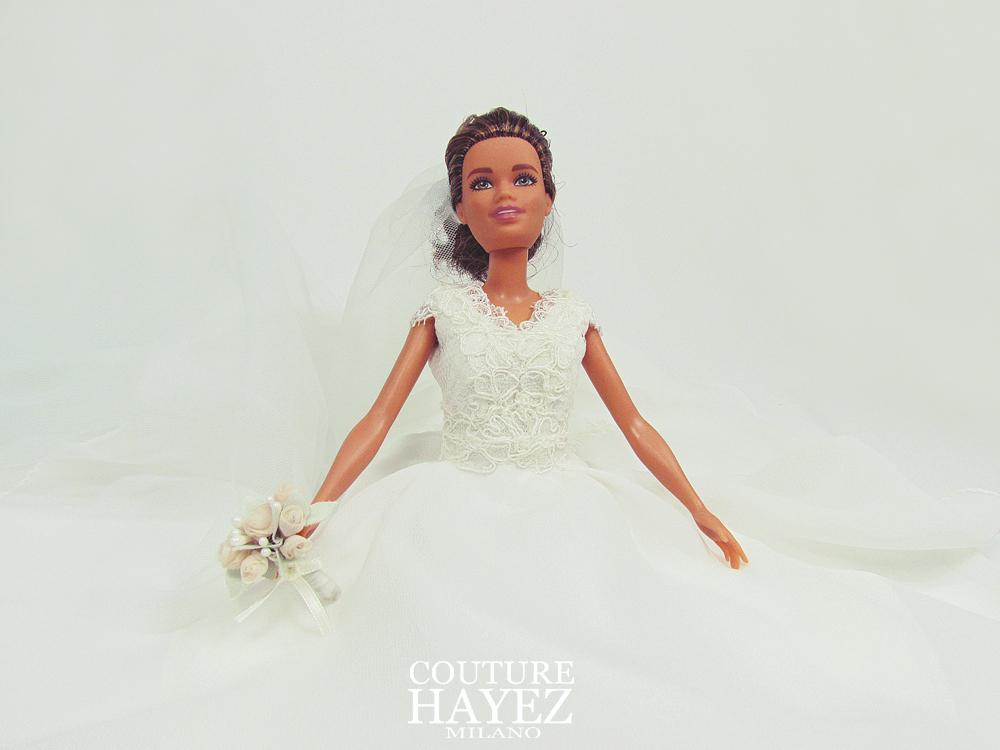 un abito da sposa come ragalo di anniversario di matrimonio,Il tuo abito per barbie