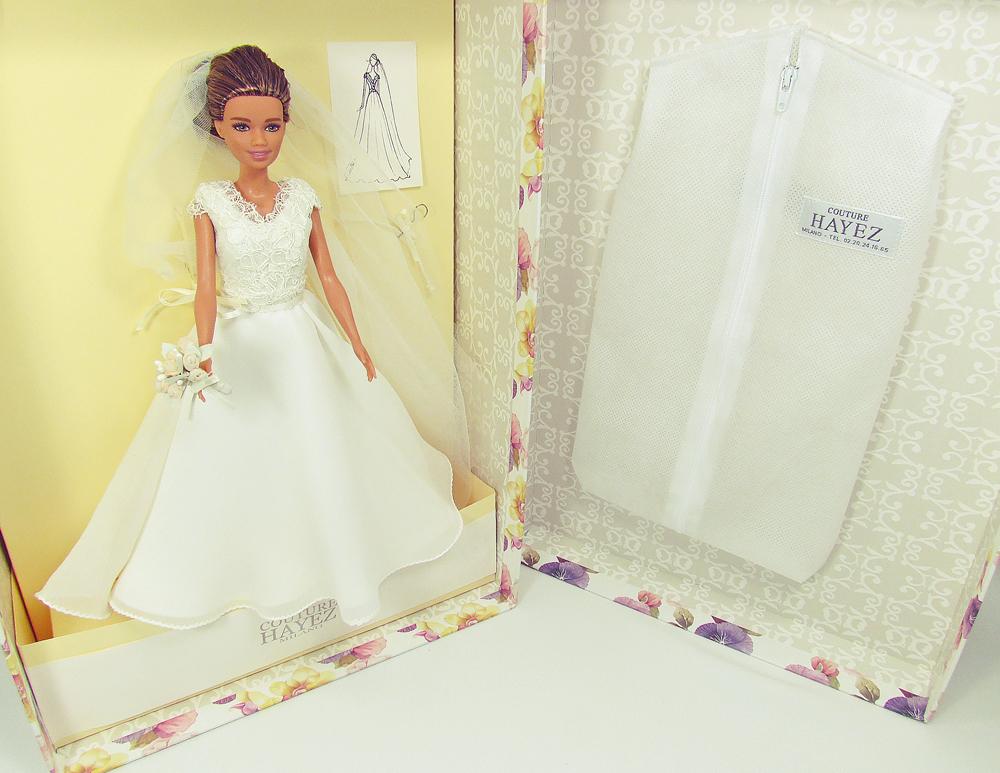 regali per il primo anniversario di matrimonio, barbie sposa