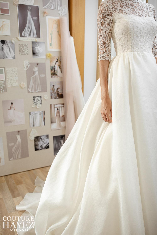 dettaglio abito da sposa collezione Autentica 2021