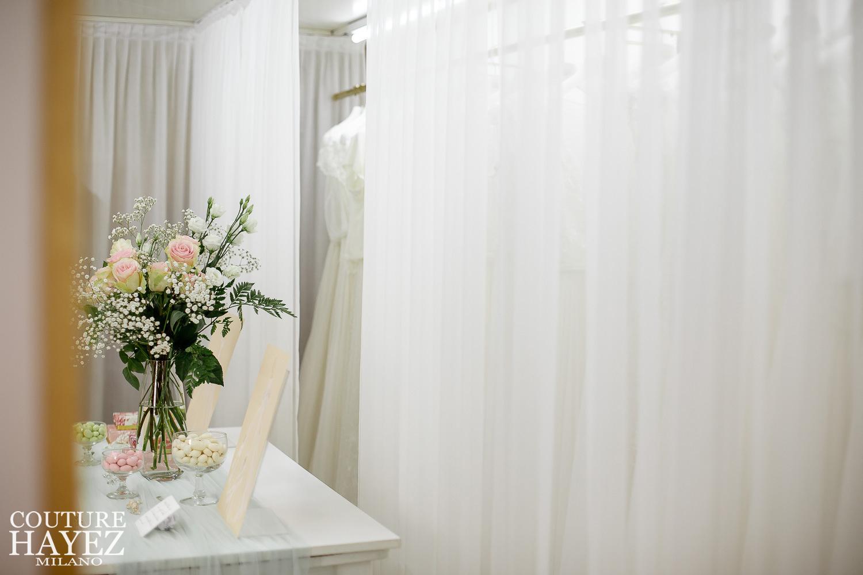 Atelier negozio Couture Hayez Milano