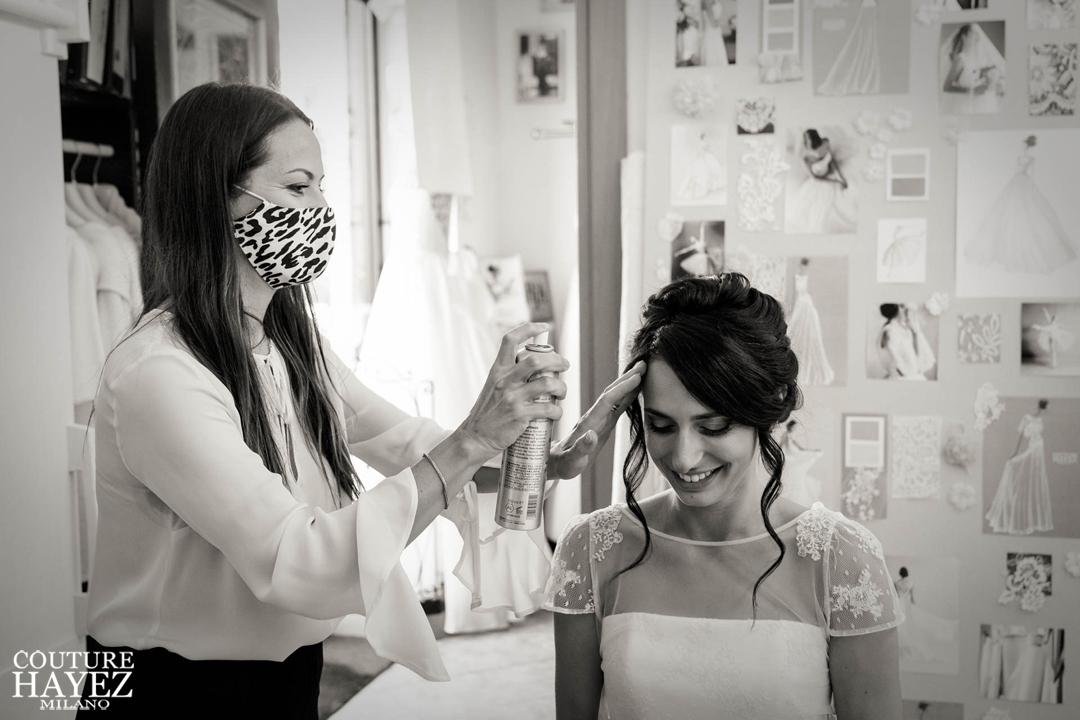 makeup e hair Veronique sposa