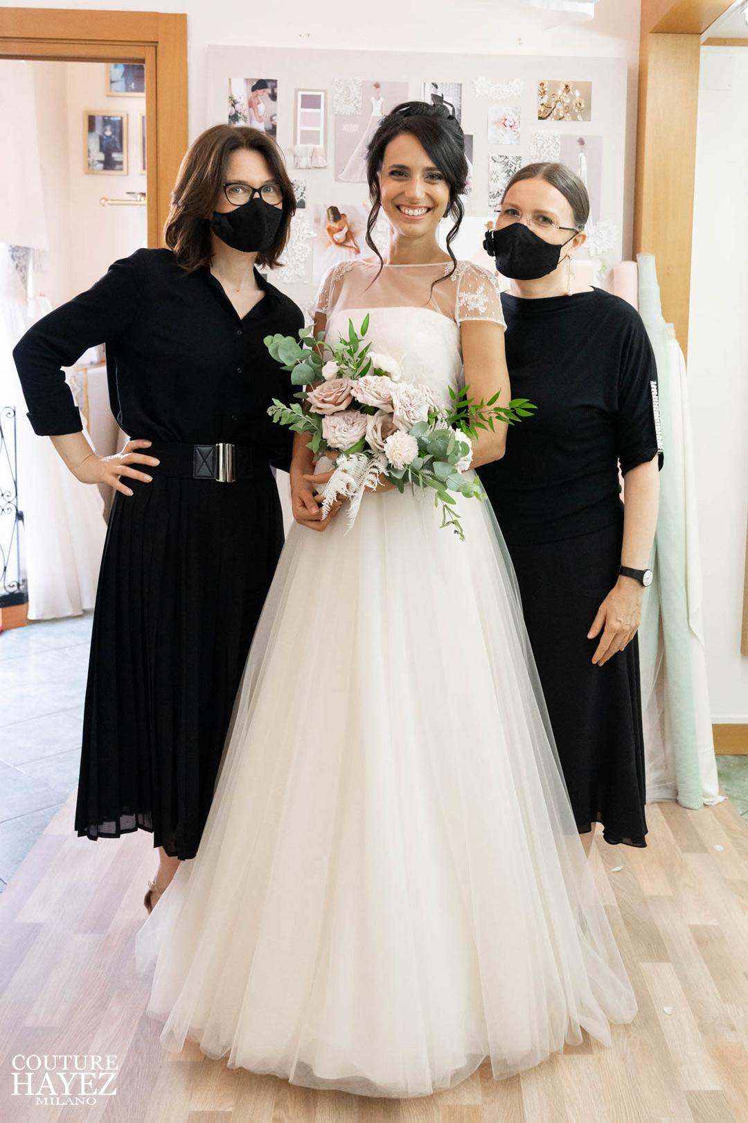 ultima prova abito da sposa unica e indimenticabile, abiti da sposa made in italy