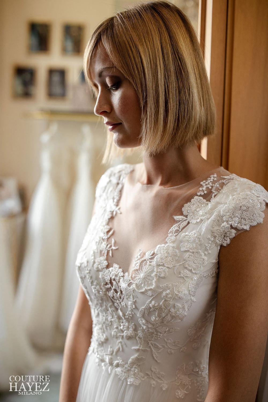 collezione sposa 2021, abito da sposa corpetto pizzo, collezione sposa alta moda