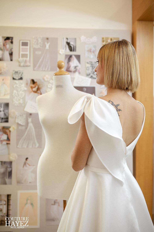 alta sartoria sposa milano, atelier sposa milano, abito da sposa made in italy