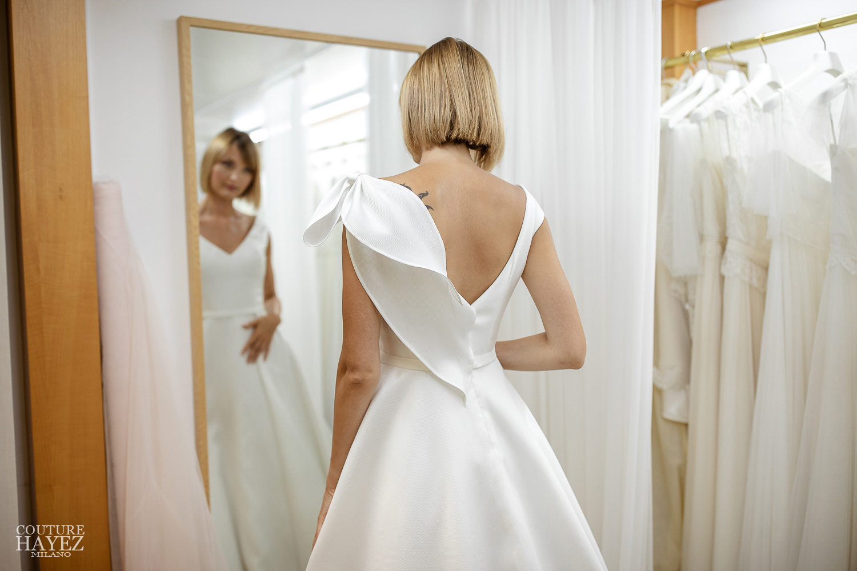 atelier alta moda sposa milano, abiti da sposa artigianali milano, abito da sposa fatto su misura