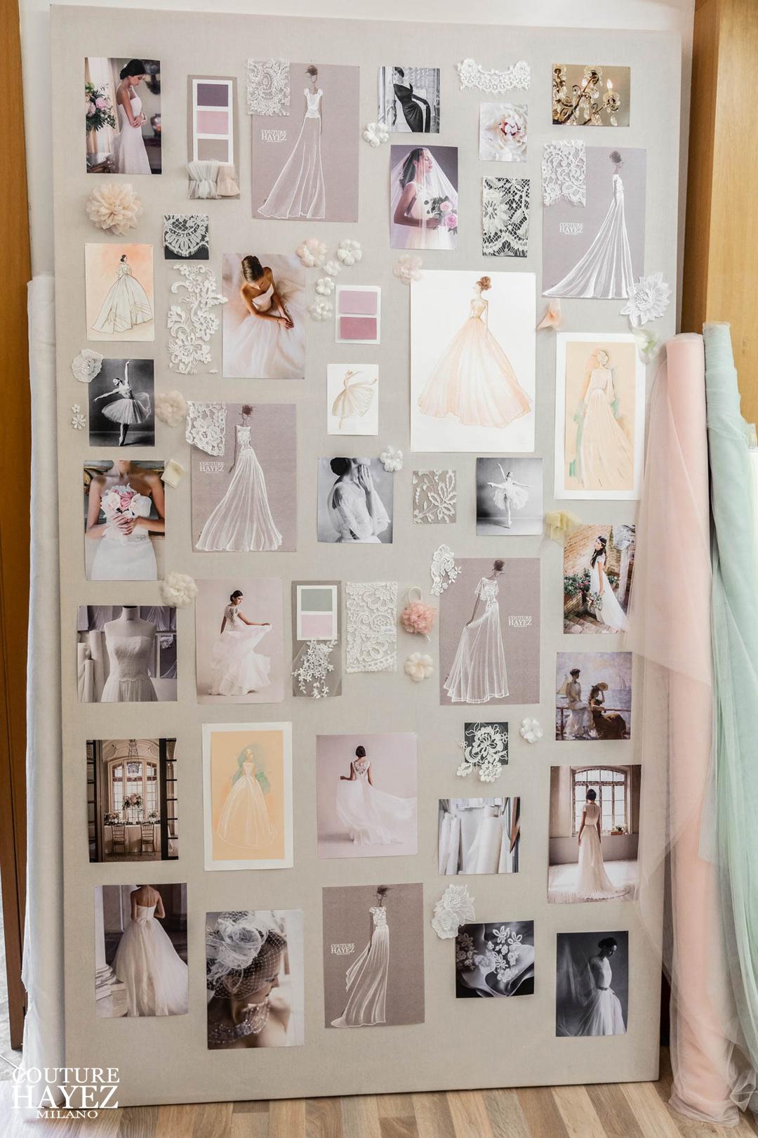 ispirazione moodboard sposa idee matrimonio