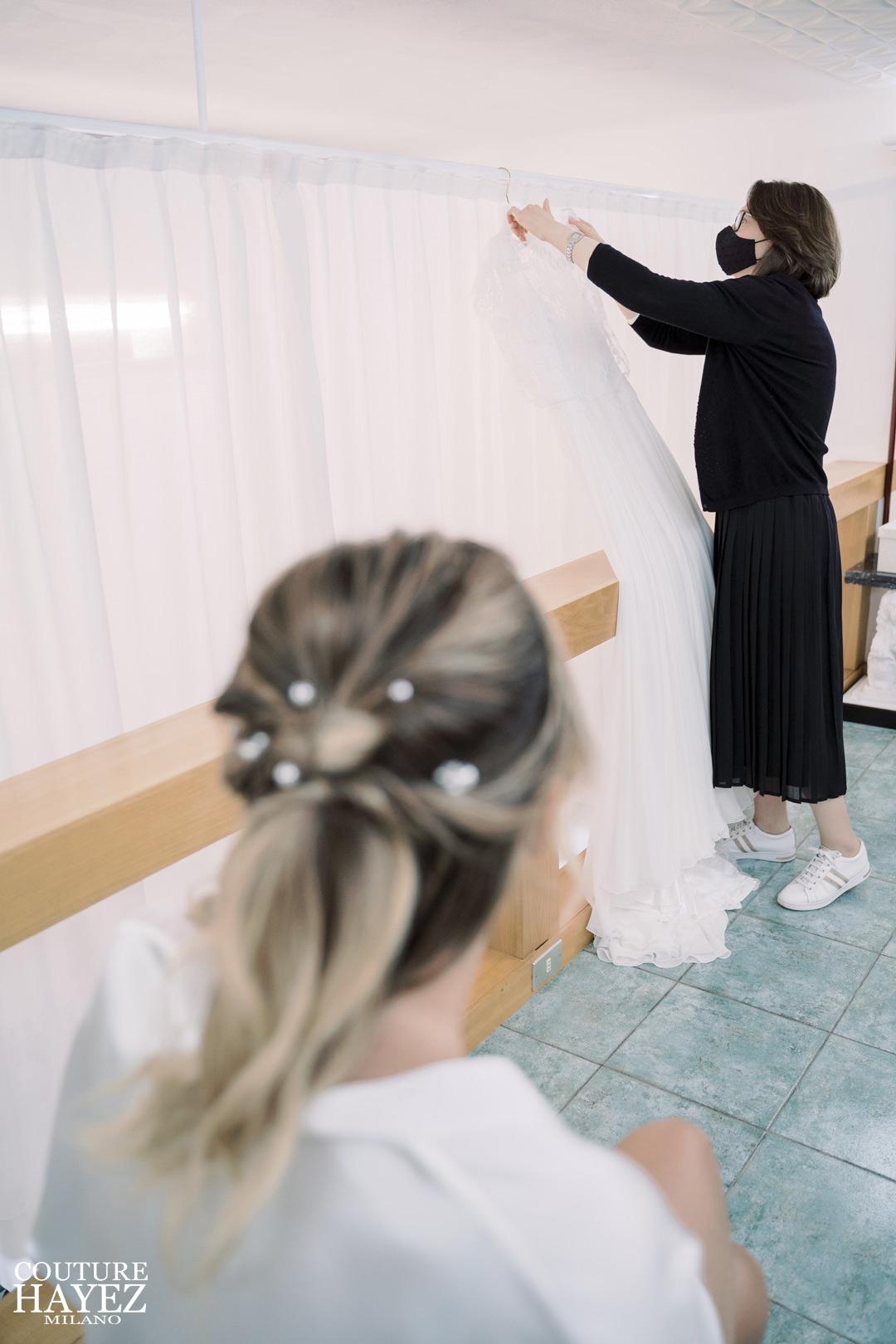 piccolo atelier abiti da sposa su misura milano