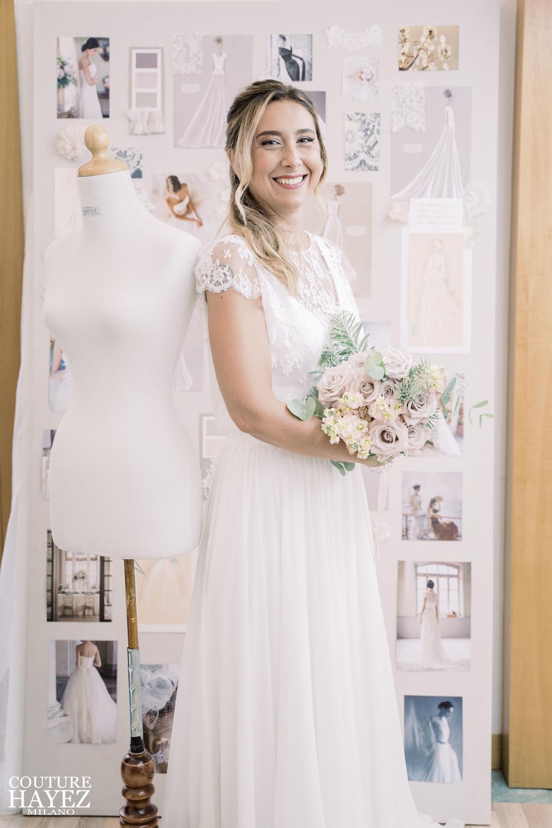 le spose di couture hayez in atelier, spose vere in atelier , atelier sposa milano